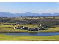The Brook Oubaai aerial view towards Outeniqua mountains